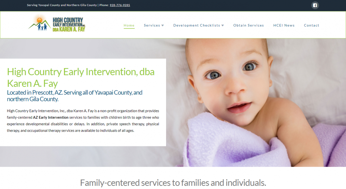 High Country Early Intervention in Prescott, AZ