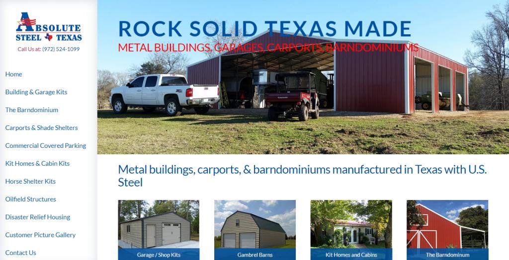 Metal Buildings Texas