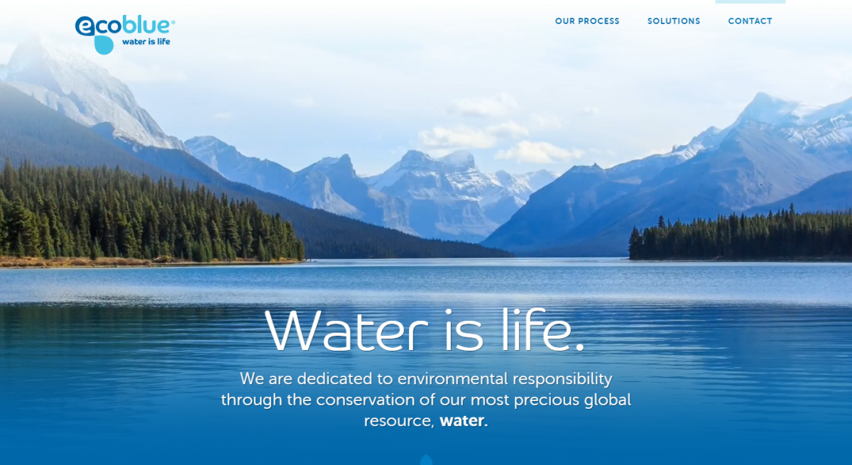 Ecoblue – Water is life.