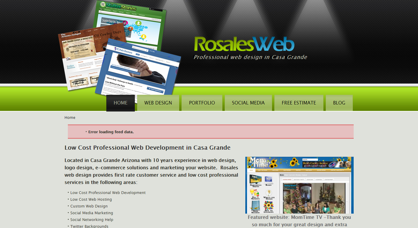 Rosales web design