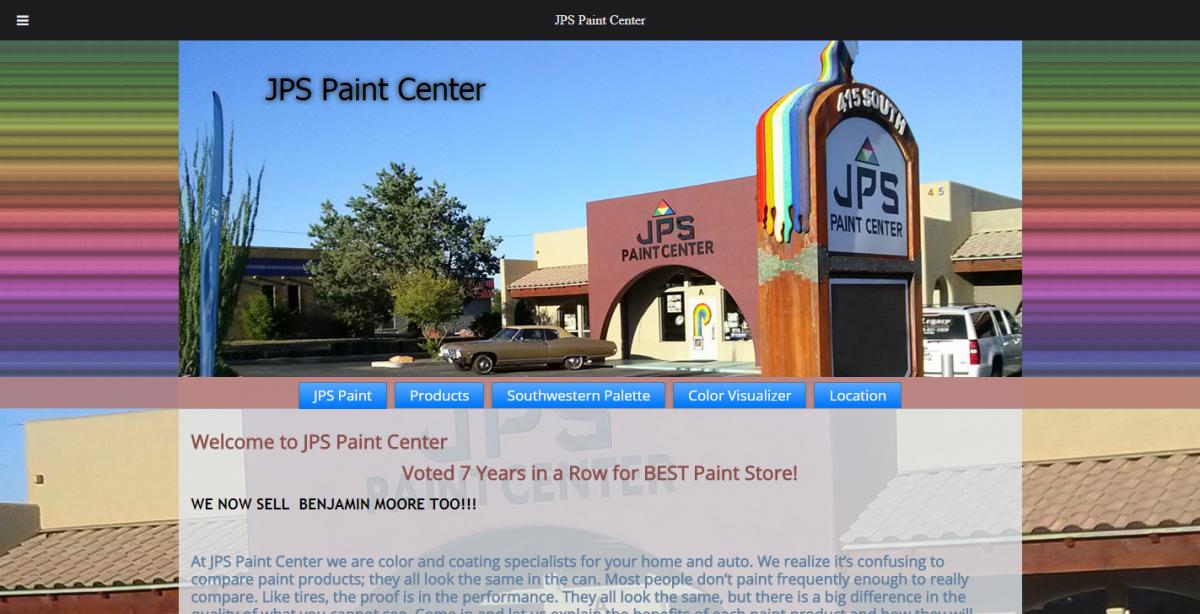 JPS Paint Center