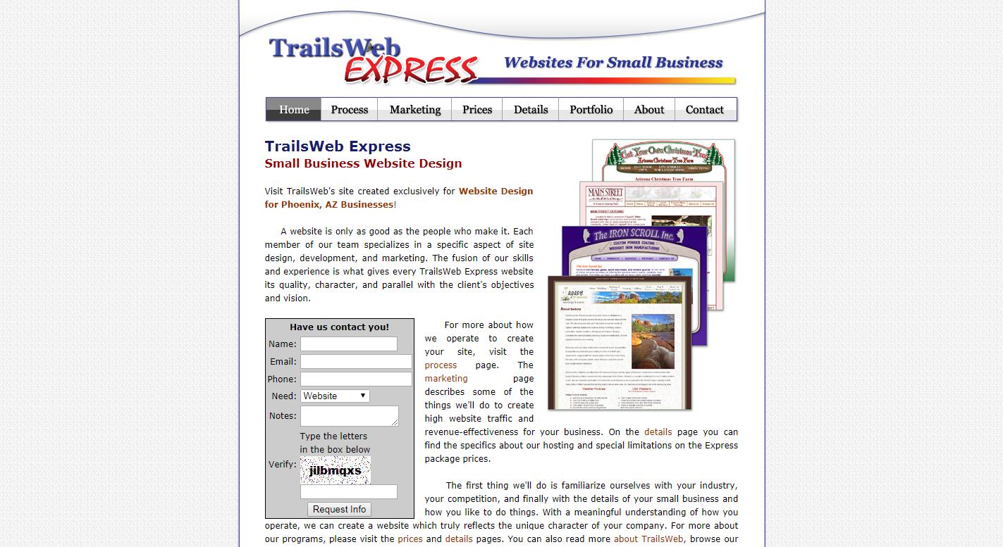 TrailsWeb Express