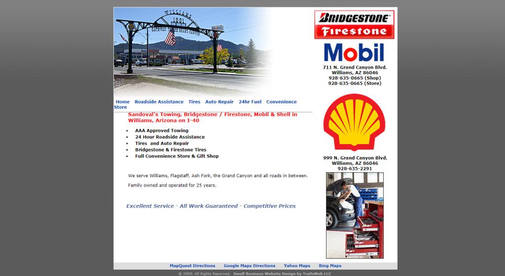Williams Bridgestone-Firestone, Mobil, Conoco