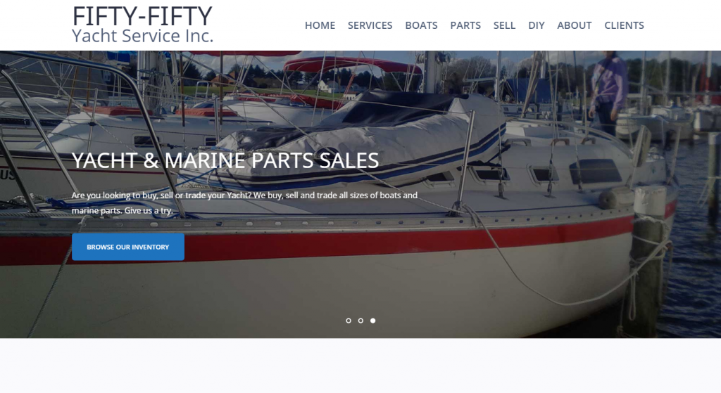 Fifty-Fifty Yacht Services Inc