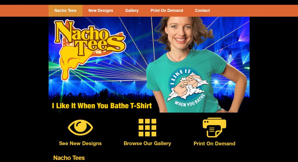 Nacho Tees Fun Shirts