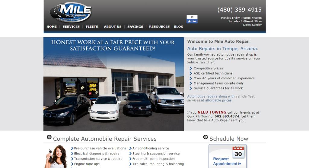 Mile Auto Repair