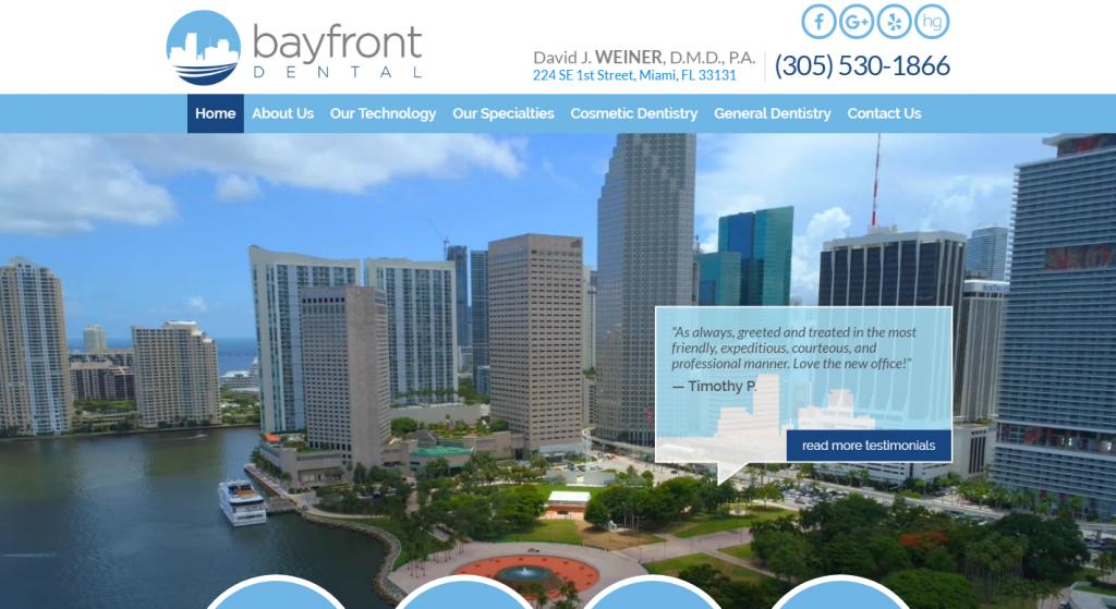 bayfrontdental.com
