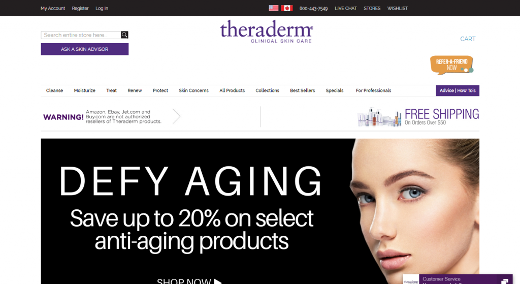 Theraderm and Therapon Skin Health, Inc
