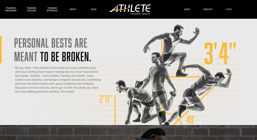 AMATEUR ATHLETE TRAINING