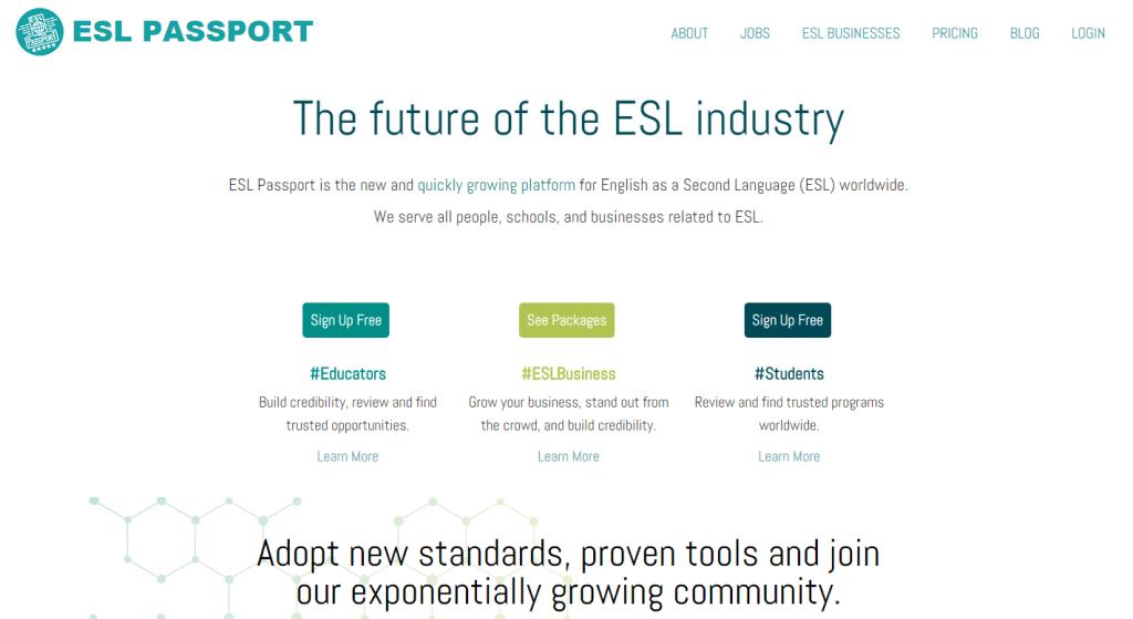 ESL Passport
