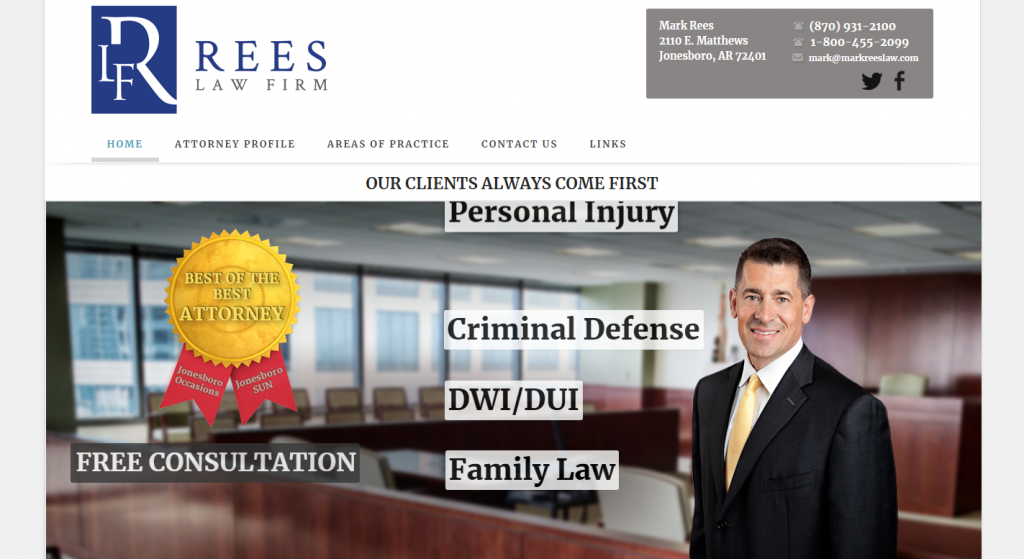 Mark Rees Trial Lawyer
