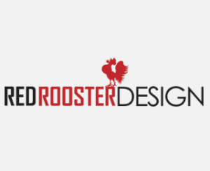 Red Rooster Design Logo