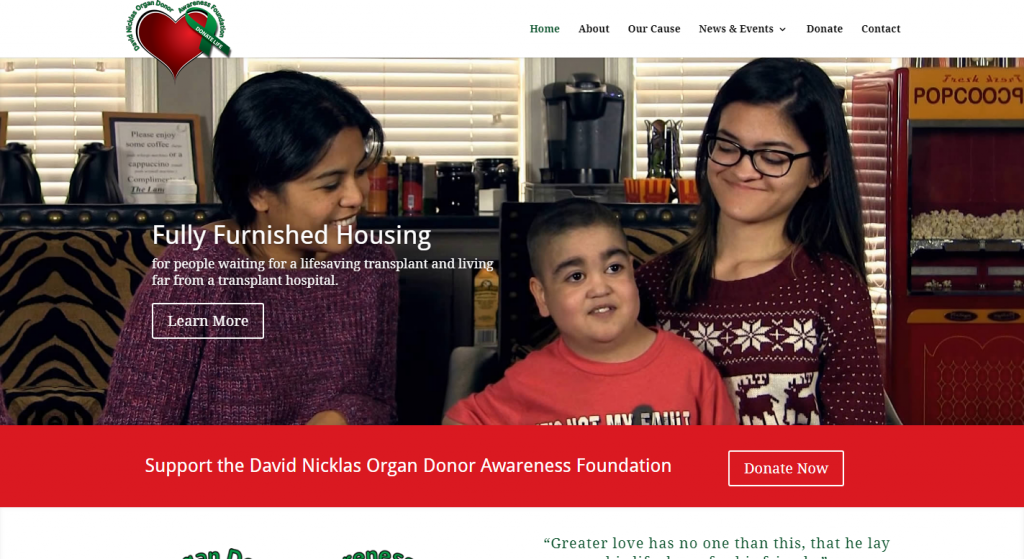 David Nicklass Organ Donor Awareness Foundation