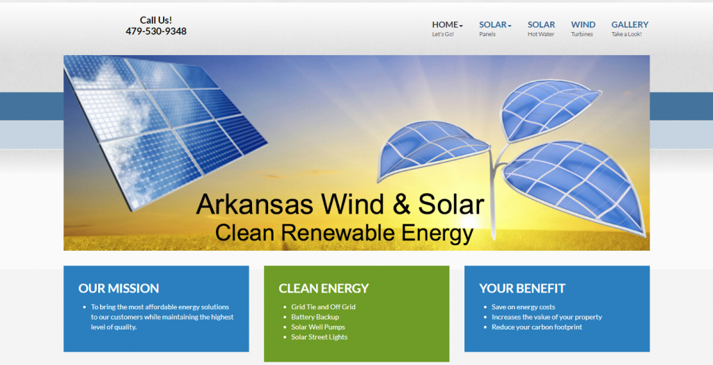 Arkansas Wind and Solar