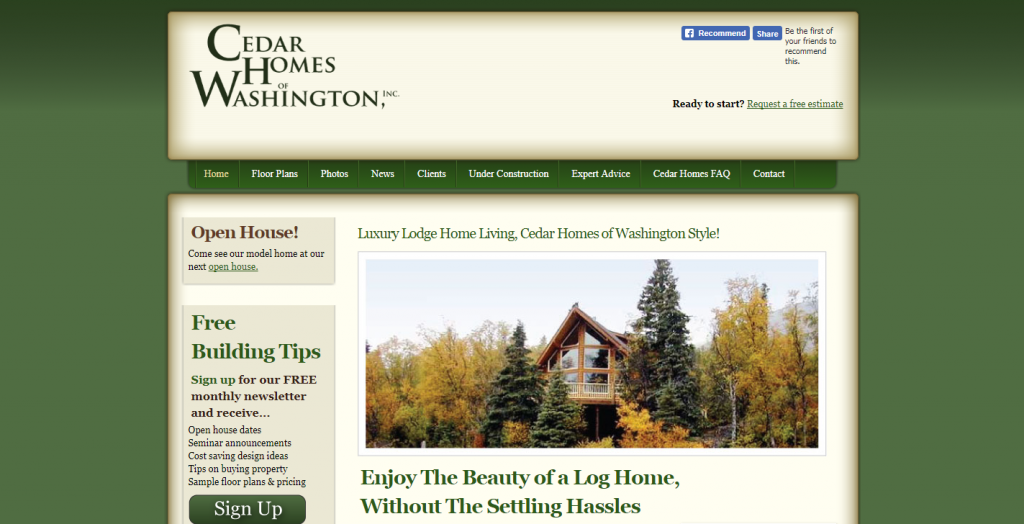 Cedar Homes of Washington