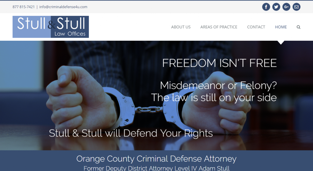 Stull & Stull, Criminal Defense, Criminal Lawyer