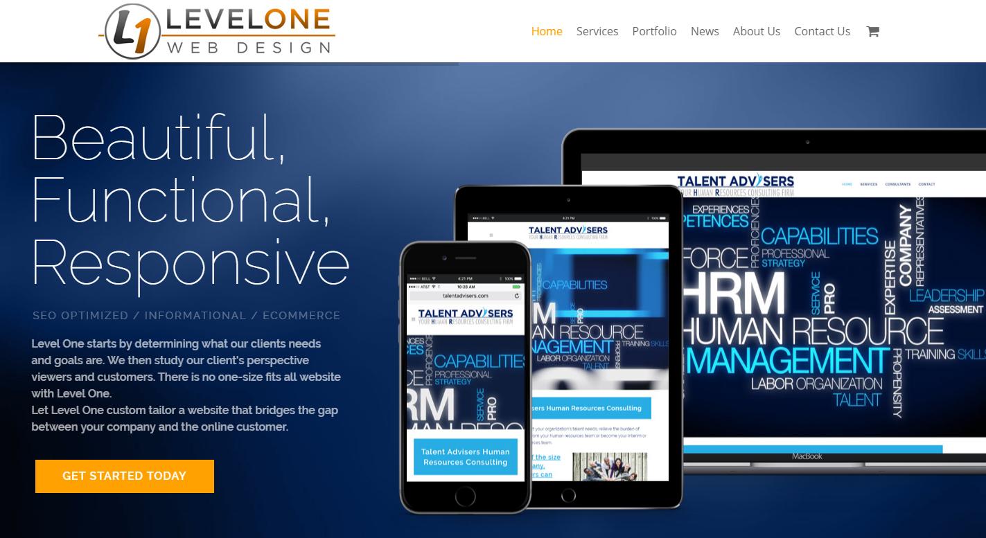 Level One Web Design