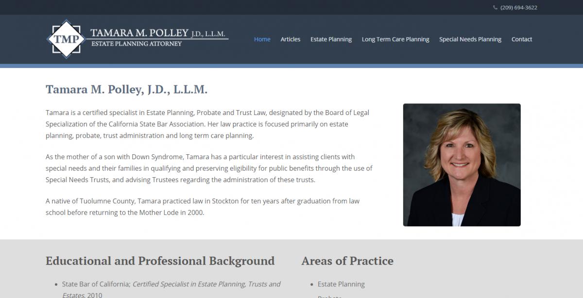 Tamara M. Polley, J.D., L.L.M