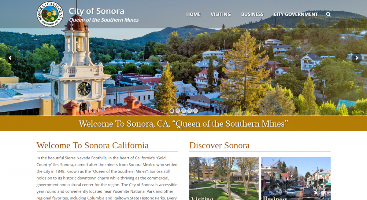 City of Sonora