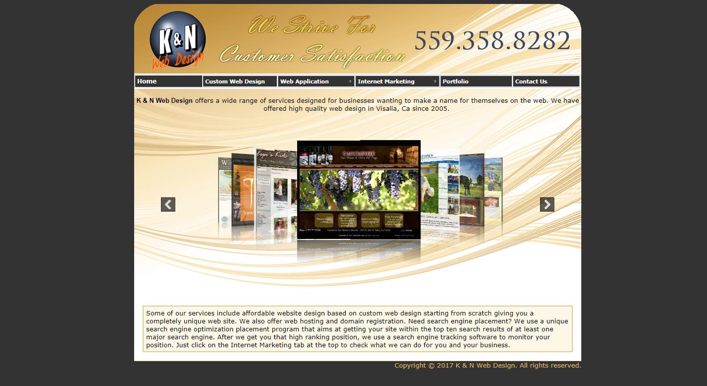 K & N Web Design