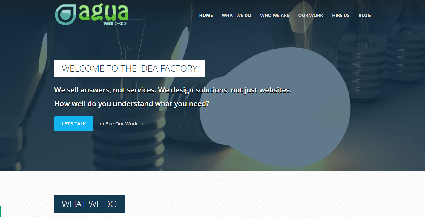 Agua Web Design