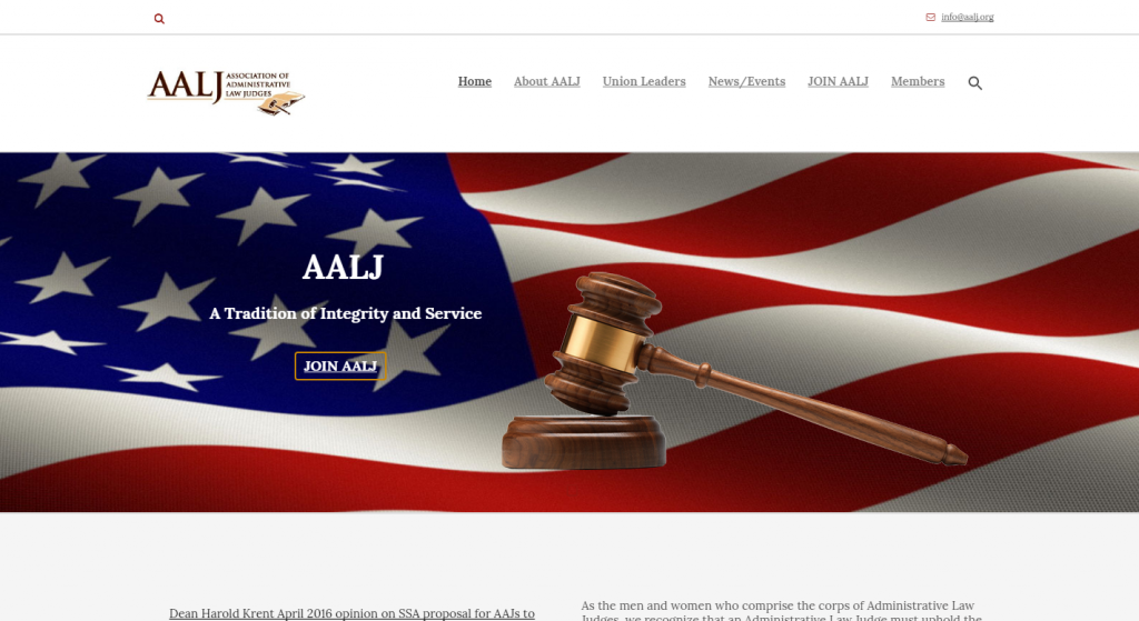 AALJ Administrative Law Judge