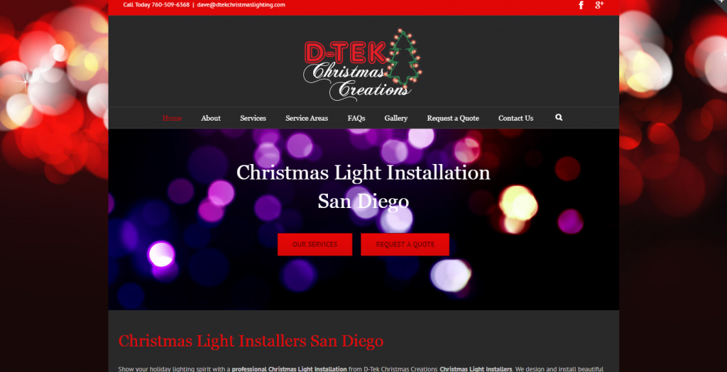 Christmas Light Installation San Diego