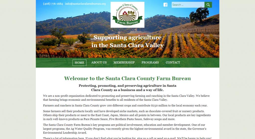 The Santa Clara County Farm Bureau