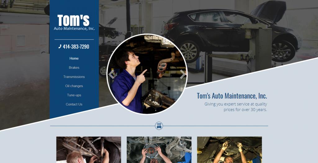 Tom's Auto Maintenance, Inc.