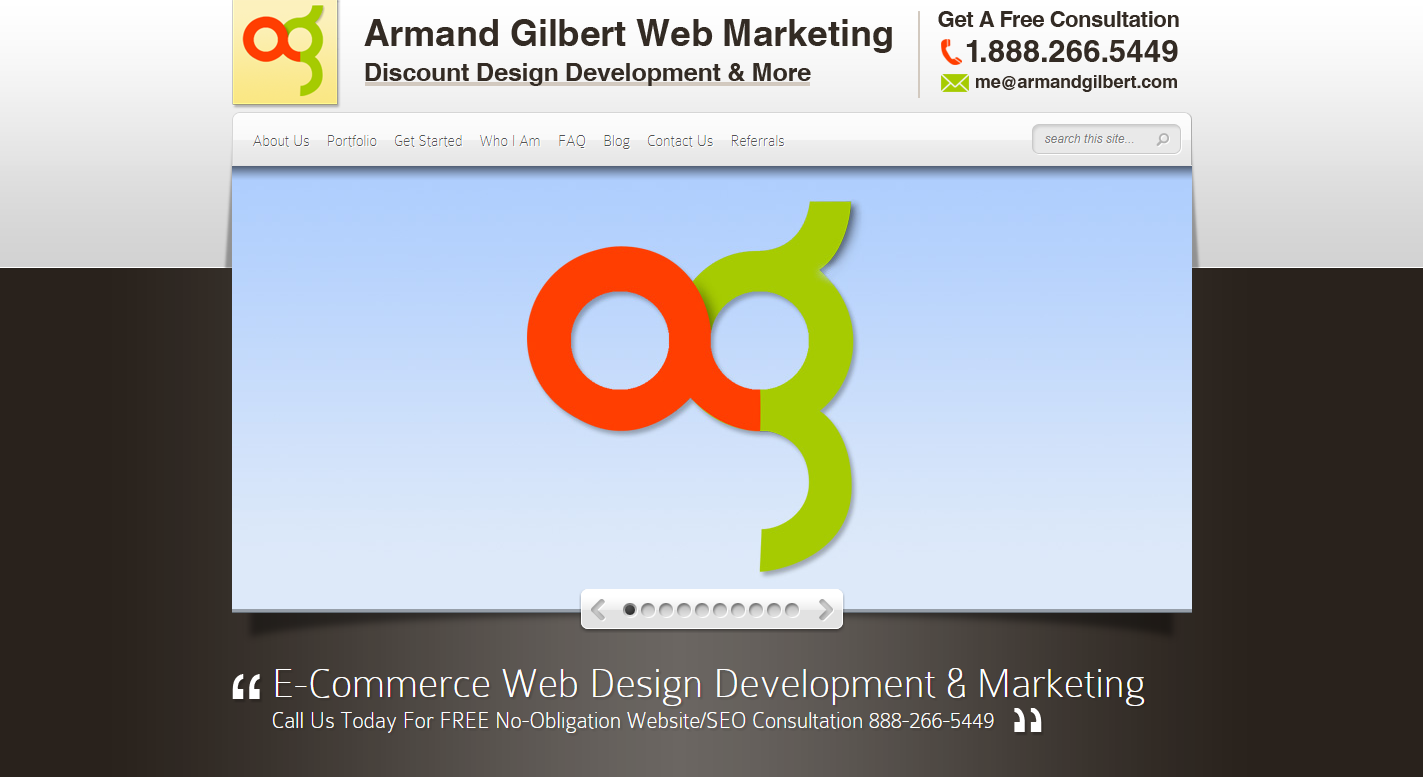 Armand Gilbert Web Marketing