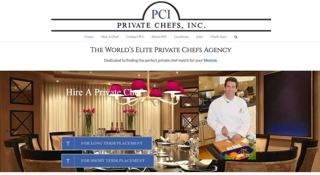 Private Chefs Inc
