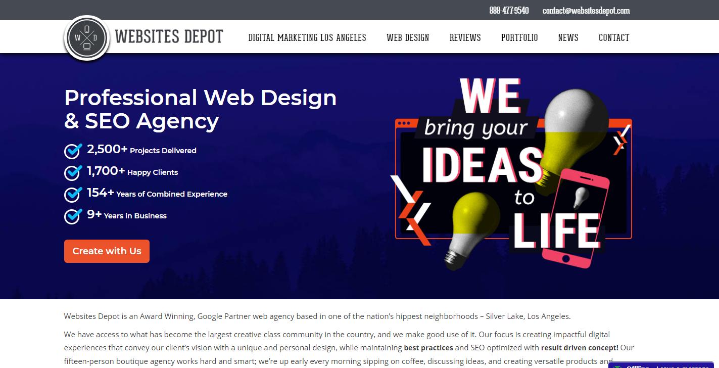 Websites Depot, Inc
