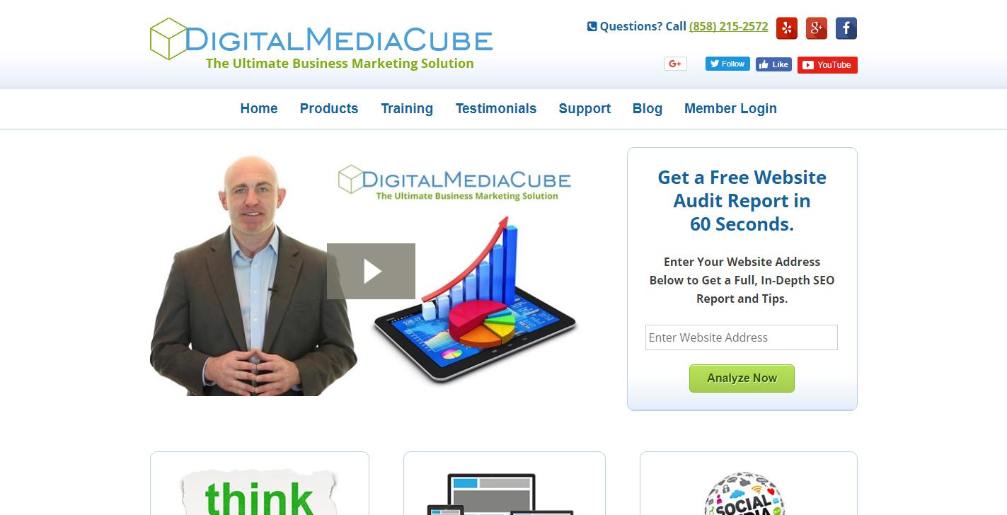 Digital Media Cube