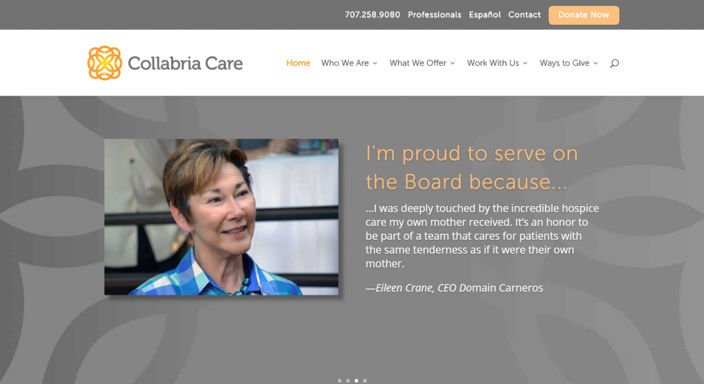 Collabria Care Website