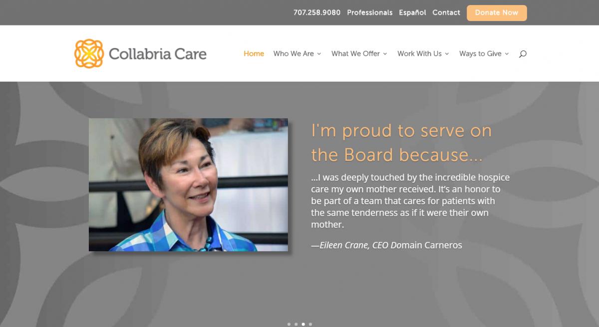 Collabria Care Website