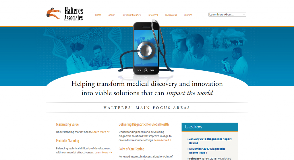 Halteres Associates Website