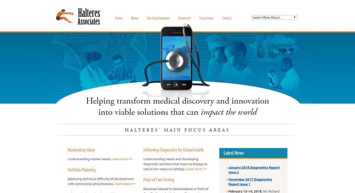 Halteres Associates Website