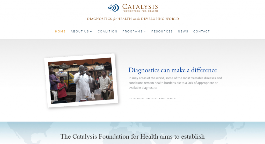 Catalysis Foundation Website