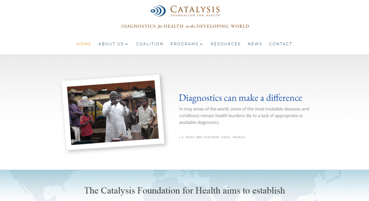 Catalysis Foundation Website