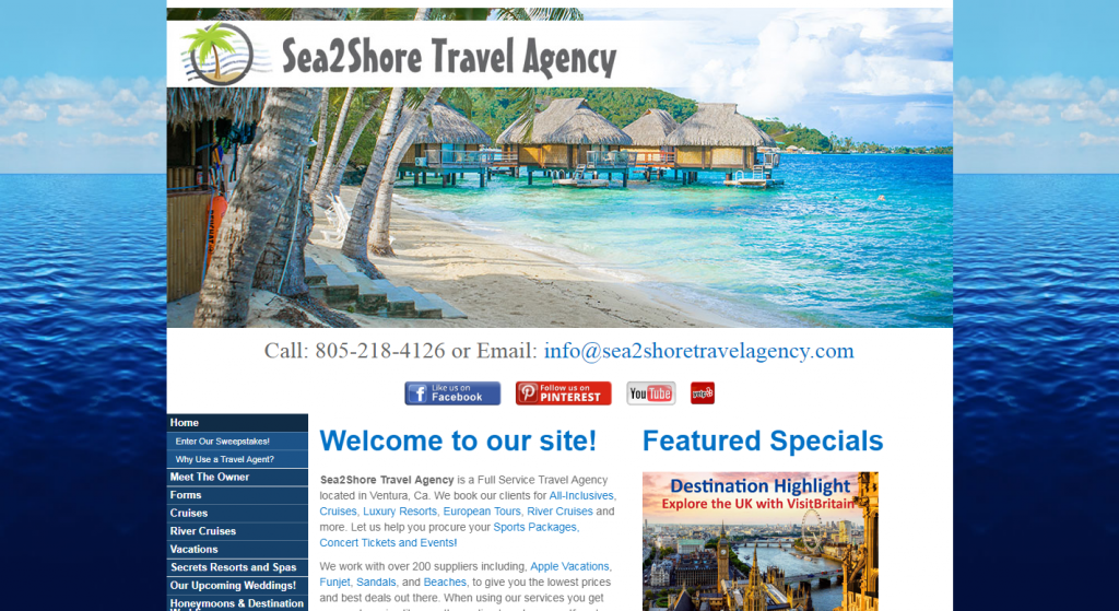 Sea2Shore Travel Agency