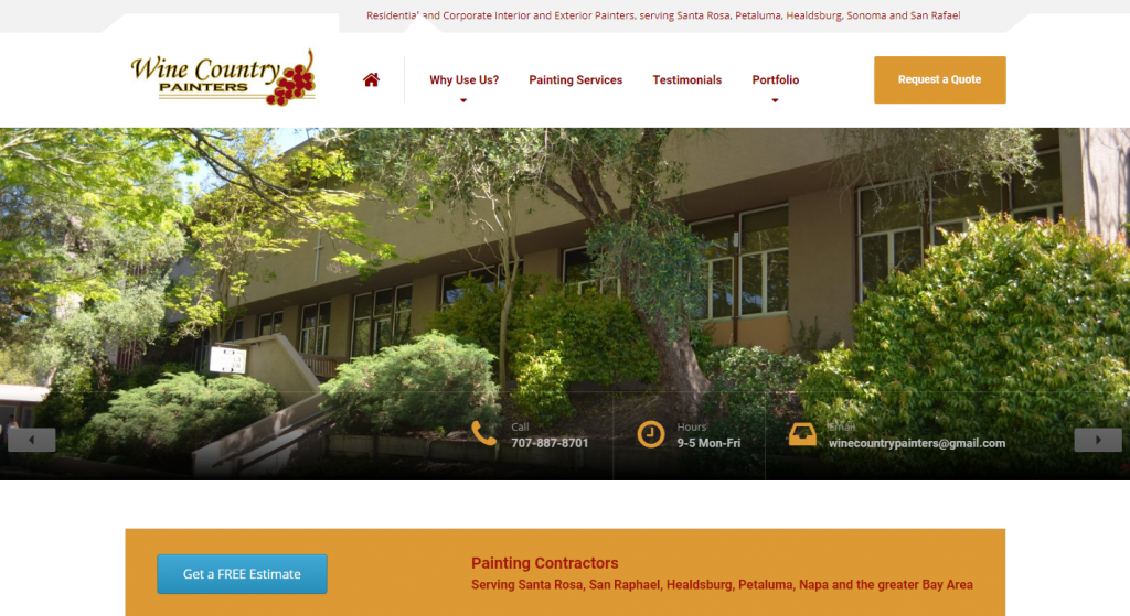 Wine Country Painters