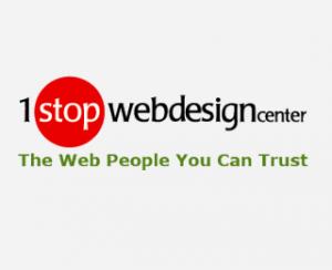 1 Stop Web Design Center Logo