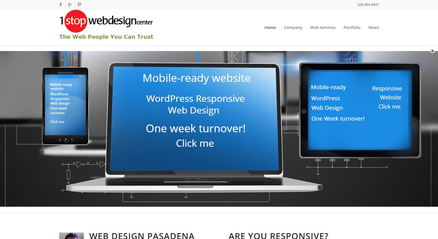 1 Stop Web Design Center