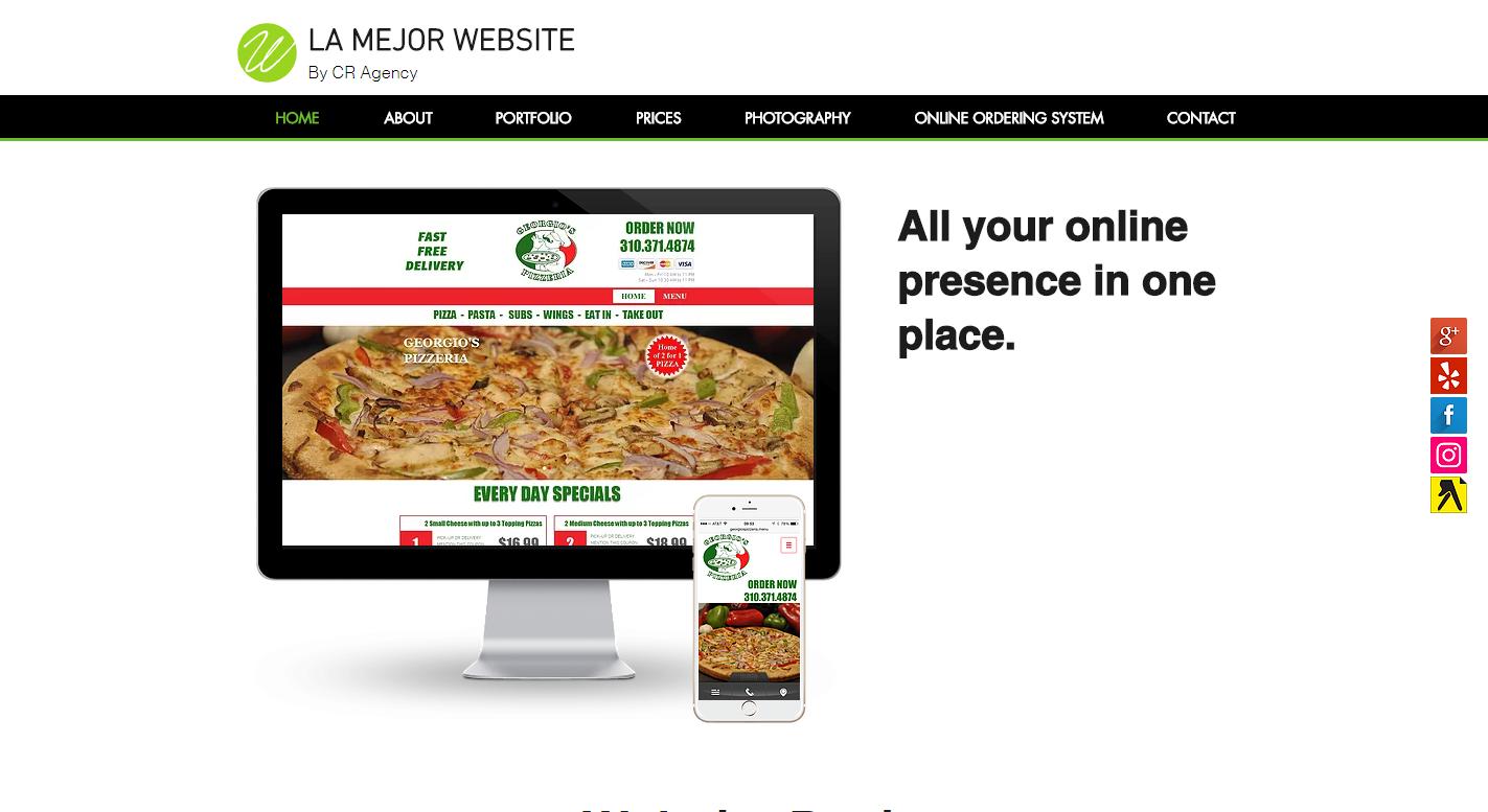 La Mejor Website