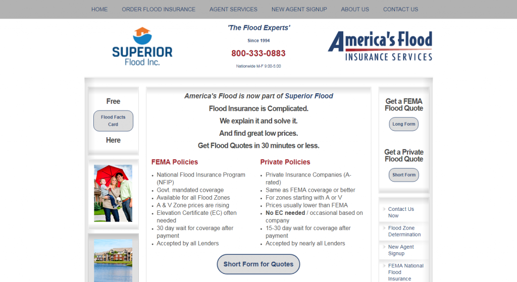 America's Flood Insurance Services