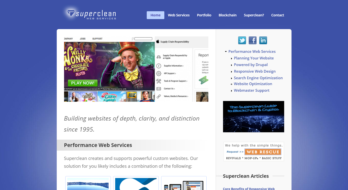 Superclean Web Services