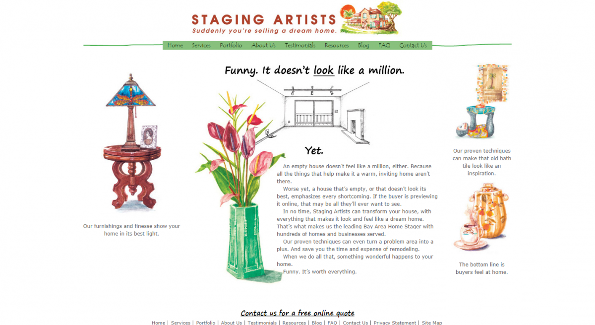 Staging Artists