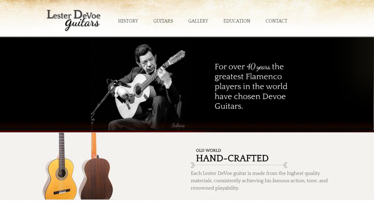 Lester DeVoe Guitars