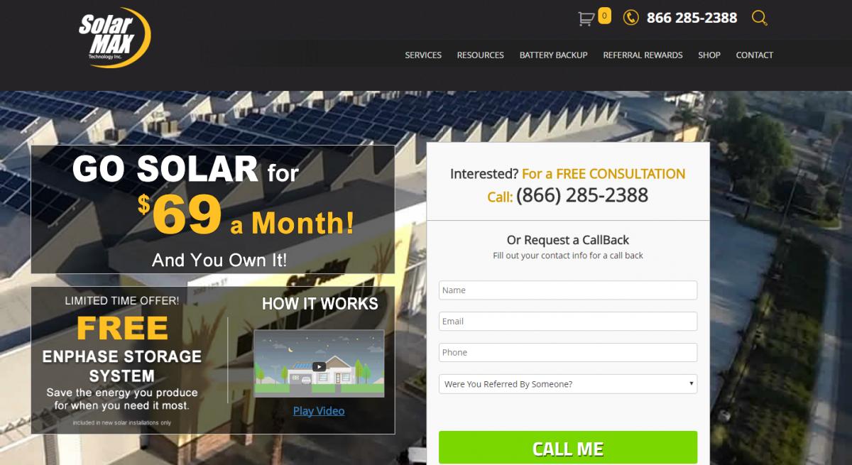 SolarMax Renewable Energy Provider, Inc