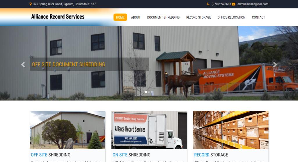 Alliance Record Services